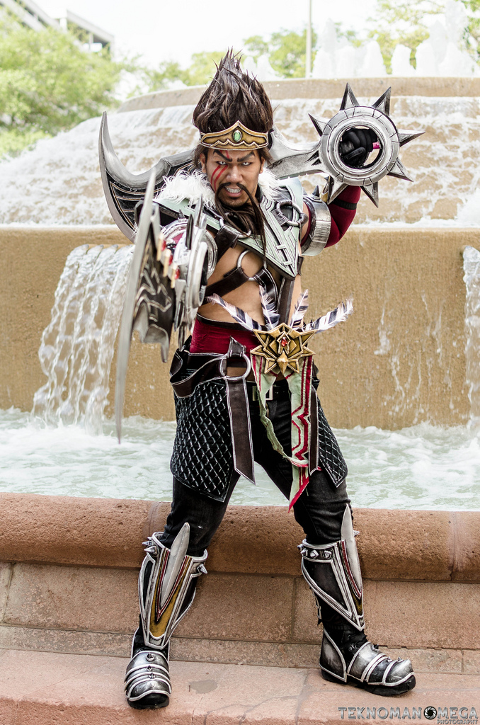 Self] gladiator draven from league of legends. : cosplay.