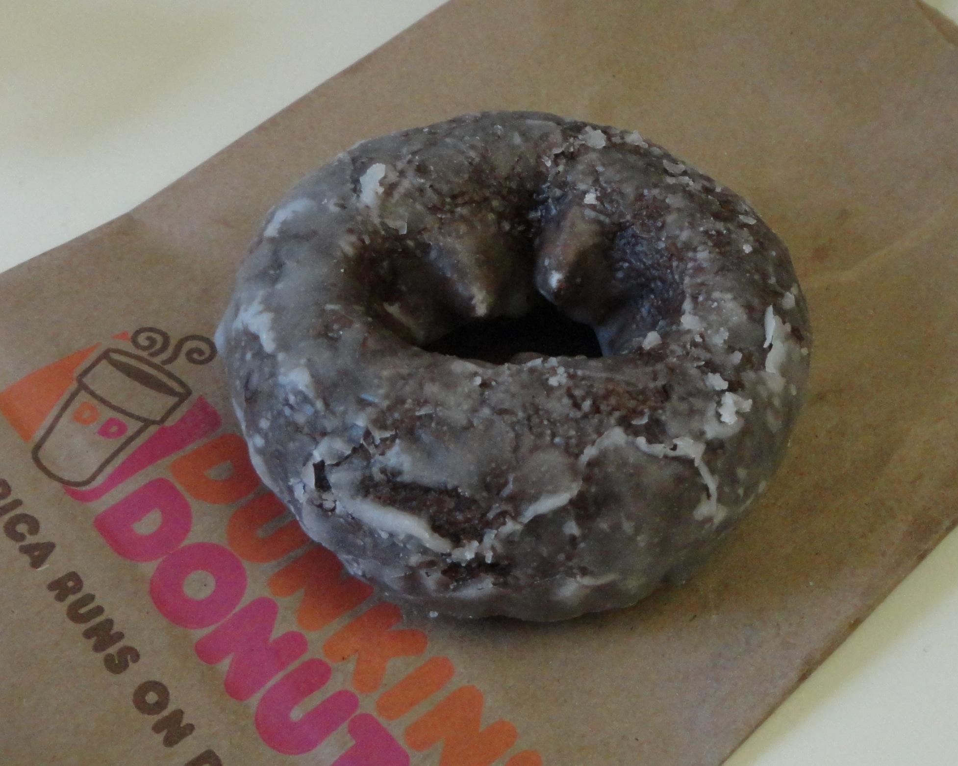 Old Fashioned Chocolate Glazed Donut Calories
