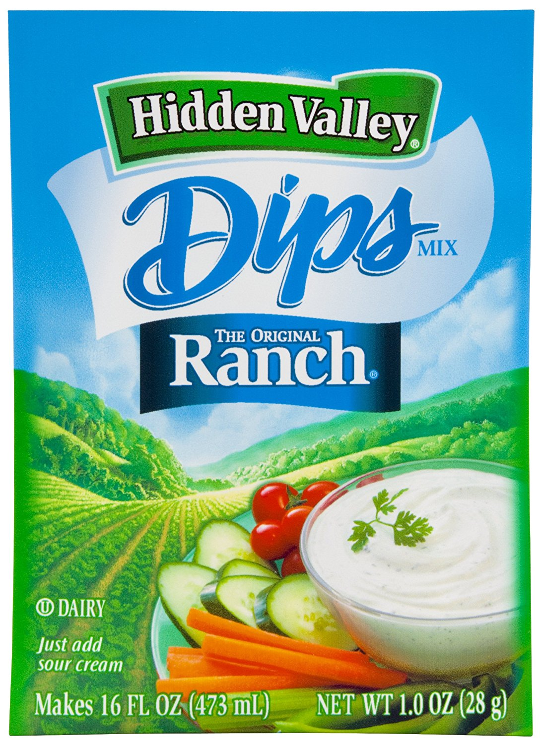 Dressing Ranch packet pictures