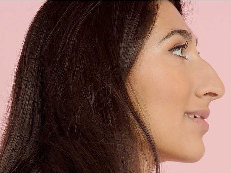 как фотографировать людей с горбинкой на носу часть
