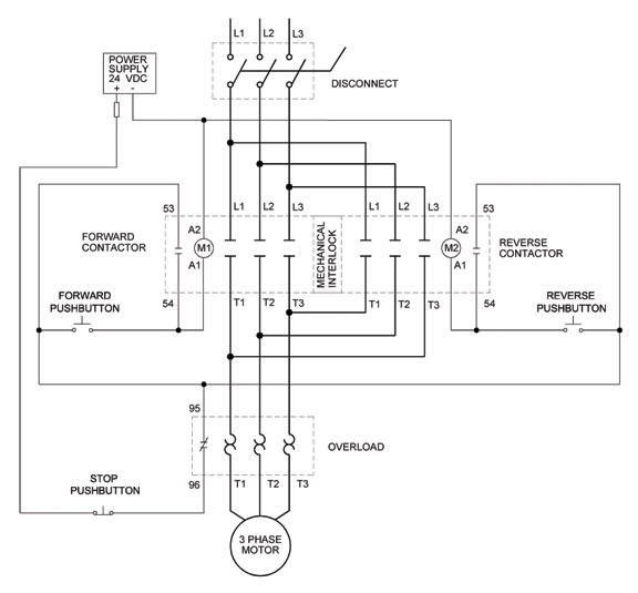 A 3 Phase Reversing Starter Wiring single phase forward ...  Phase Motor Contactor Wiring Diagram on 3 phase motor wiring connection, 3 phase converter wiring diagram, 3 wire single phase wiring diagram, 3 phase 220 volt wiring diagram, 3 phase motor parts diagram, 3 phase wiring schematic, 3 phase compressor wiring, 3 phase starter diagram, 3 phase wiring for dummies, 3 phase motor wiring diagrams, 3 phase current transformer wiring diagram, 3 phase panel wiring diagram, 3 phase lighting wiring diagram, single phase reversing contactor diagram, 3 phase capacitor wiring diagram, 3 phase electrical wiring diagram, sn phase diagram, hvac dual capacitor wiring diagram, 3 phase wye-delta transformers, 3 phase meter wiring diagram,