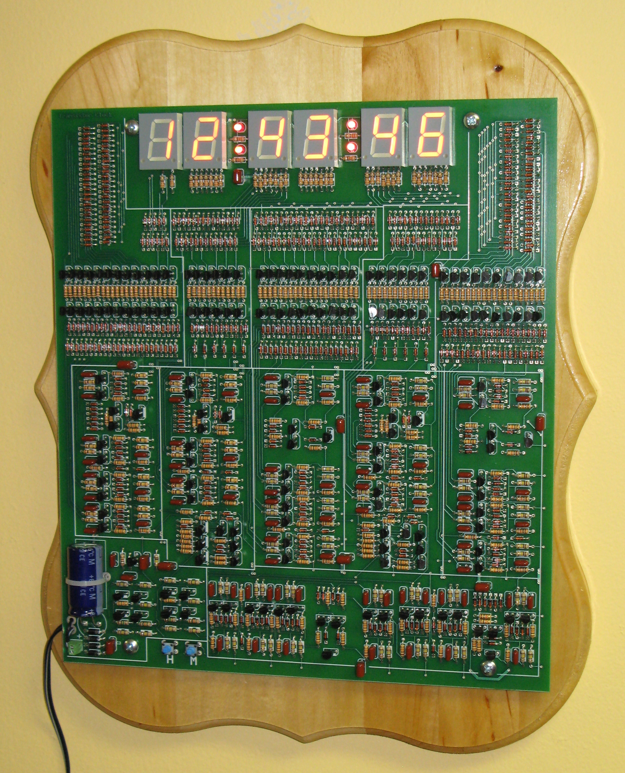 Diy Do It Yourself Schematic Of My 6 Digit Nixie Clock Here Are Some Photos 638745
