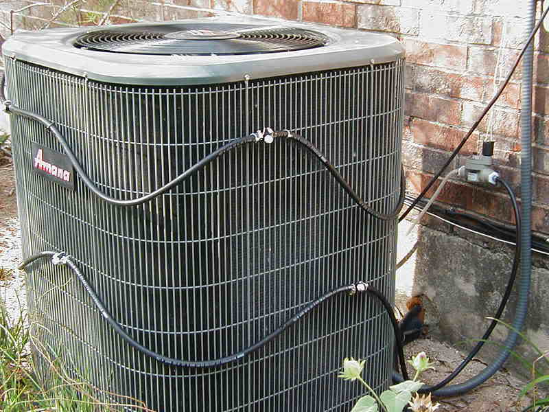 Misting Systems For Ac Units : Diy do it yourself