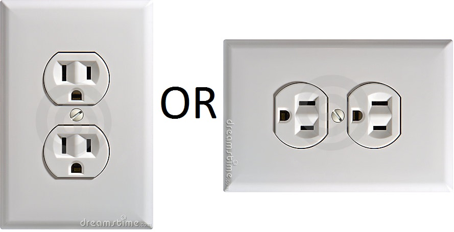 Diy do it yourself search you know i have always installed the electrical outlet in vertical position but since my mom moved to another house i noticed all the outlets have an solutioingenieria Choice Image