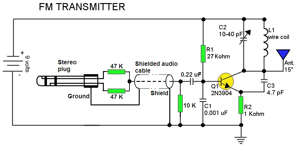 Fm Receiver Circuit Diagram Using Ic Cxa1619bs likewise Crystal radio additionally Timers and counters further Build An Arduino Controlled Am Fm Sw Radio additionally Schema php. on simple fm receiver circuit diagram