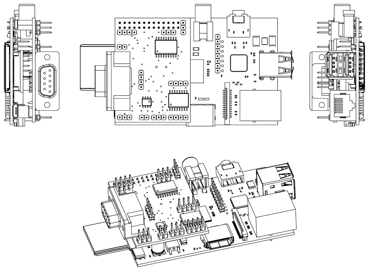 Raspberry Pi 2 Board Schematic Wikipedia B Circuit Diagram Hd Image Of Model