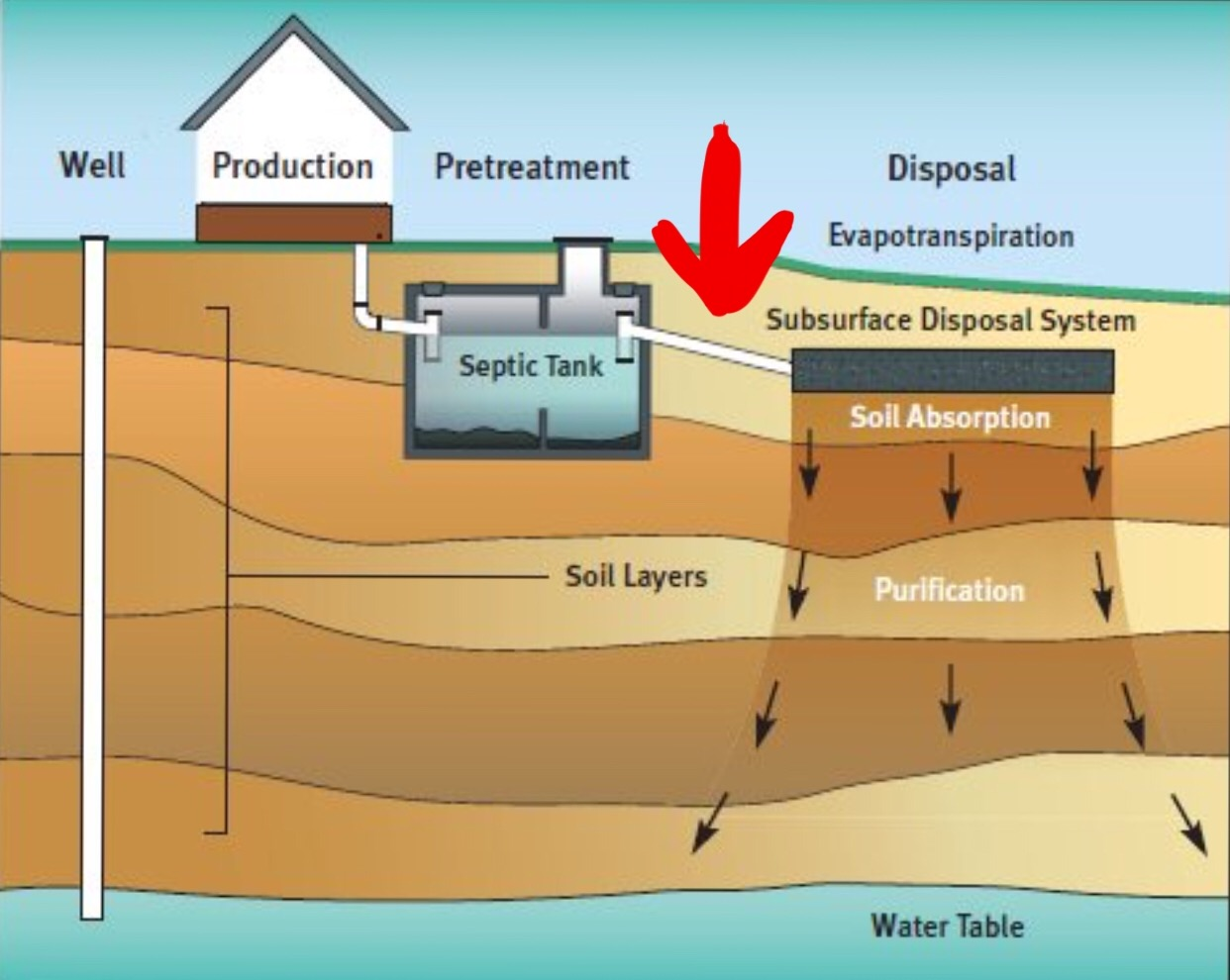 Septic diagram 28 images septic tank schematic septic for Sewer system diagram
