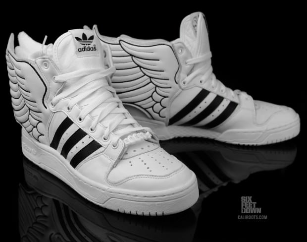 adidas originals jeremy scott leather wings marble
