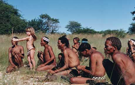 голые среди людей фото