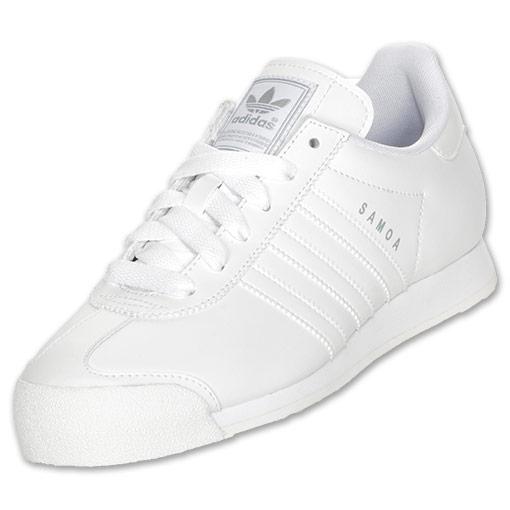 adidas samoa white mens