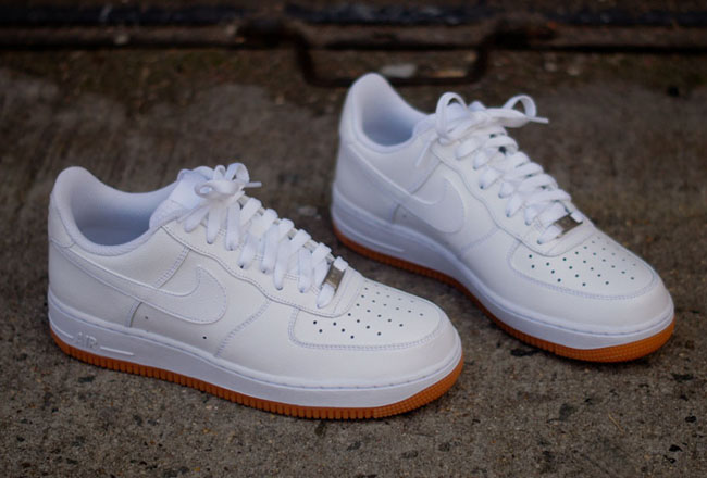 reputable site 6f56c bc91a nike air force 1 low gum sole