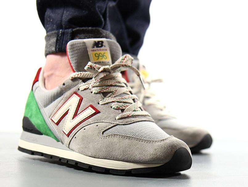 new balance 996 on feet