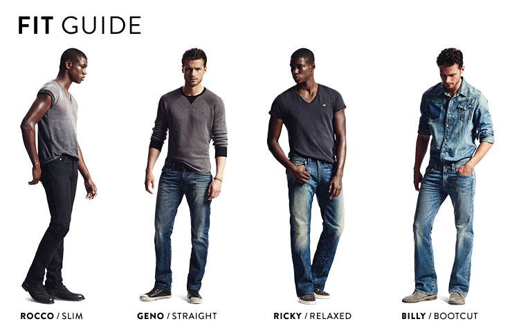 Straight vs bootcut vs relaxed