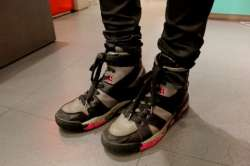 KRIS VAN ASSCHE S S12 HI TOP SNEAKERS Wait! Fashion
