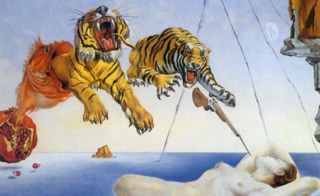Ic artwork critique for Dali tuna fishing