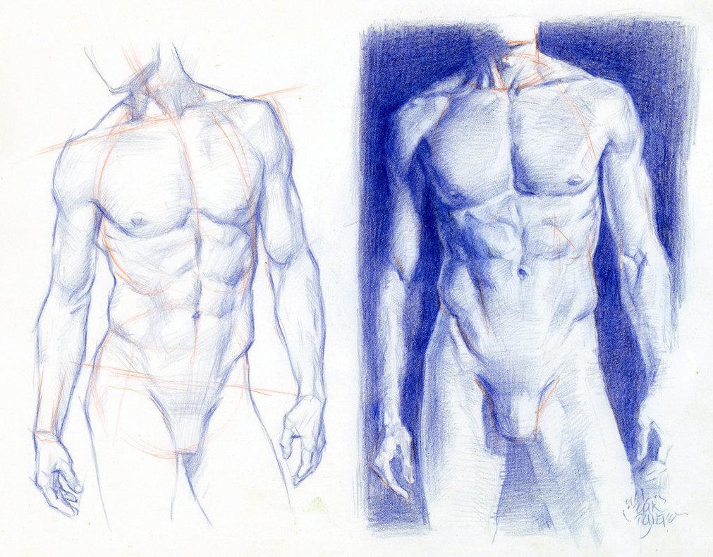 Рисунки в картинках на мужском теле