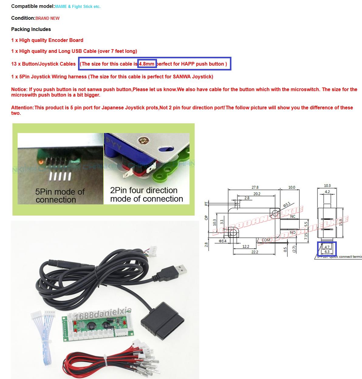Jp Otaku Culture Sanwa Joystick Wiring Diagram 15088321