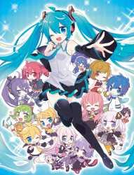 "011 Hatsune Miku Vocaloid Music Anime Game 32/""x24/"" Poster"