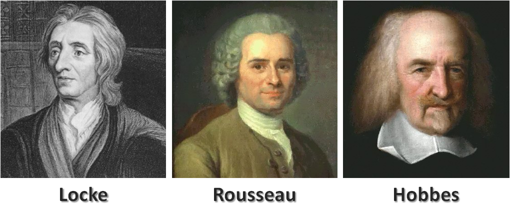hobbes locke rousseau and machiavelli essay Plato, hobbes, spinoza, locke, montesquieu, diderot,  in this essay,  jean-jacques rousseau:.
