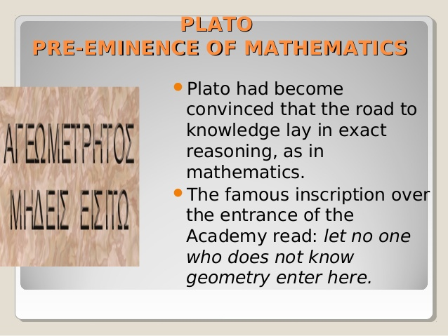 did plato contribute mathematics The republic, a philosophical work produced in 380 bce and still discussed in modern curriculum, is one of the more commonly known contributions of plato the republic addresses justice and politics another contribution of plato is the academy, an institution at which students could study astronomy, biology, mathematics and politics.