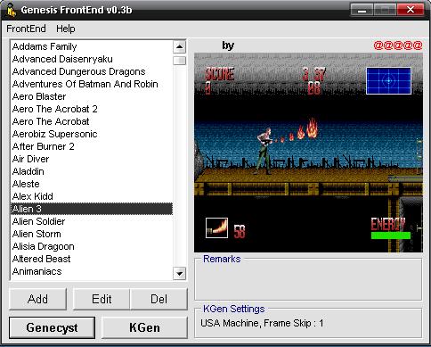 emulator front ends for windows