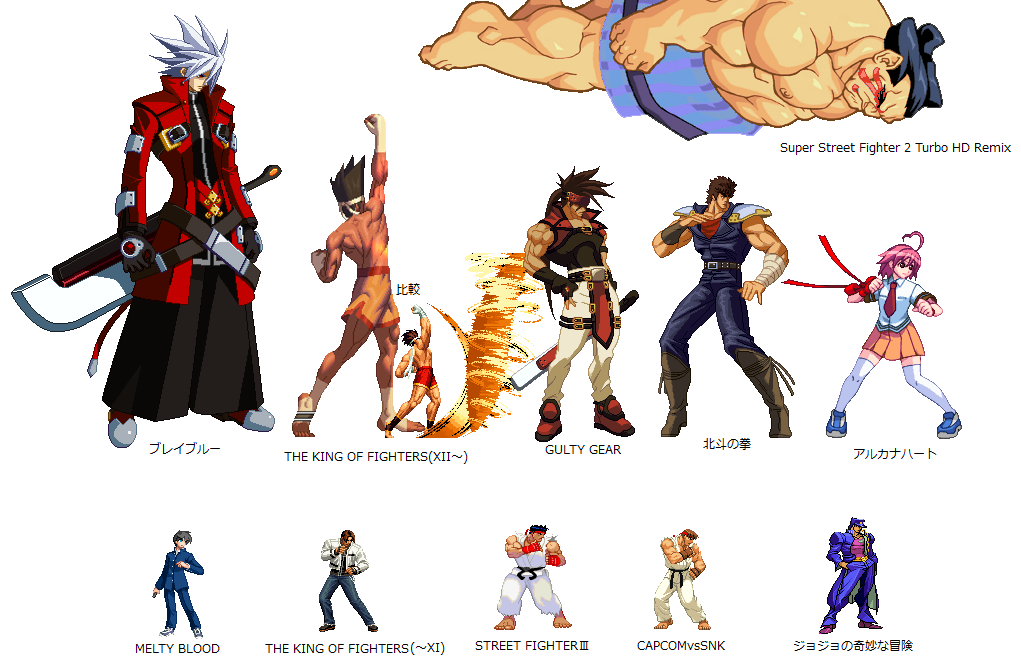 Street Fighter Iii And Capcom S Pixel Art Process Neogaf