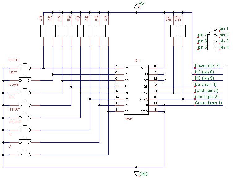 Nes Wiring Diagram | Wiring Diagram